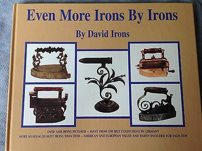 Sad Iron book on fluting, minerature irons, goffering irons, all groups  Vol 3
