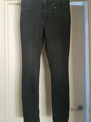 H&M slim fit jeans, LOGG, size 30, charcoal, as new