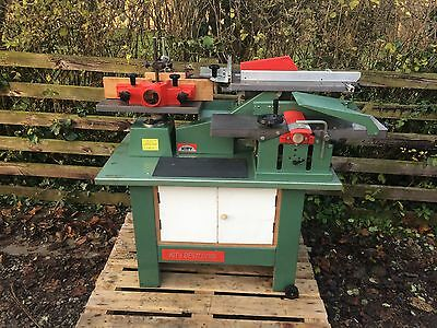 Kity BestCombi Planer Thicknesser Saw Bench Spindle Moulder Combination Machi...