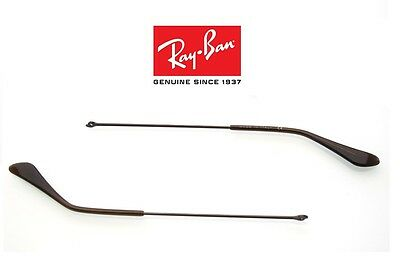 Aste Ricambio Brown Marrone Originali Per Occhiali Da Sole Ray Ban Aviator 3025