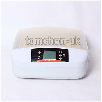AU Style 56 Eggs Digital Fully Automatic Incubator Turner Poultry Chicken Duck