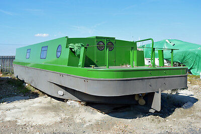 55ft Wide Beam Canal Barge