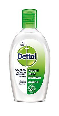 Dettol Instant Hand Sanitize Non Sticky And Rinse Free Solution 50ML