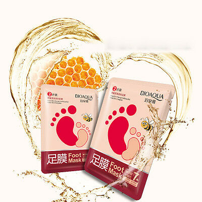 Exfoliating Feet Foot Care Mask Renew Foot Hard Dead Dry Cracked Skin Remover