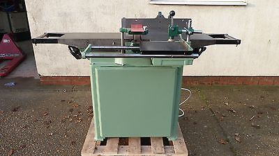 Multico L 235mm Surface Planer With Tenonning Attachment. Single Phase. PWO