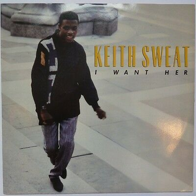 """Keith Sweat - I Want Her - 12"""" Vinyl"""