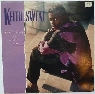 """Keith Sweat - Something Just Ain't Right - 12"""" Vinyl"""