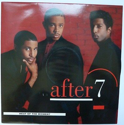 """After 7 - Heat Of The Moment - 12"""" Vinyl"""