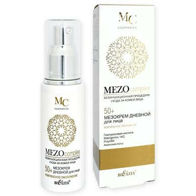 MEZOcomplex Anti-Aging Tagescreme mit Hyaluronsäure, Taurin & Glycin 50+, 50ml