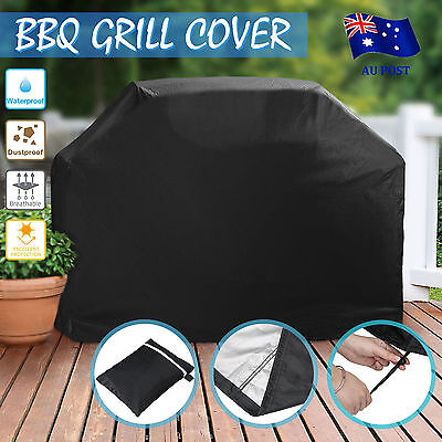 BBQ Cover 4 Burner Waterproof Outdoor UV Gas Charcoal Barbecue Grill Protector B