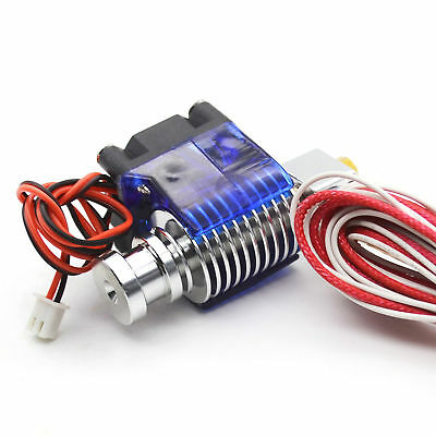 Hotend Metal BowdenExtruder J-head PTFE with Nozzle Fan for 3D Printer