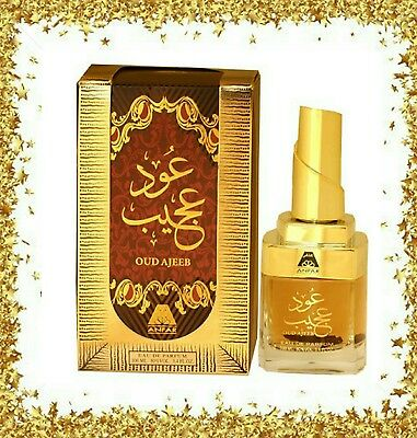 Oudh Ajeeb Perfume With Oud Wood Inside by Anfar 100ml ARB Oriental Fragrance