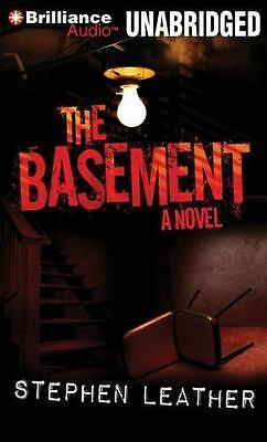 The Basement by Stephen Leather (CD, Unabridged) NEW