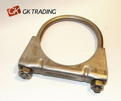 U type mounting Exhaust Clamp 65 mm - Full Stainless Steel SS BRAND NEW!!!