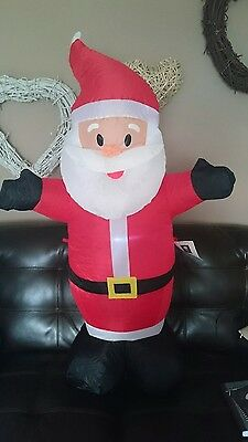 Brand new in box Inflatable Santa Claus