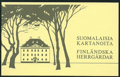 Finland #672 Mint Never Hinged Complete Booklet - Manor Houses