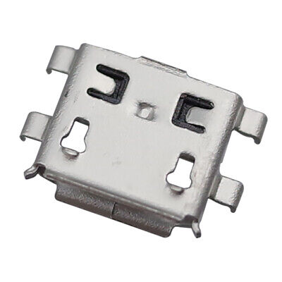 10Pcs Micro USB Type B Female 5Pin Socket 4Legs SMT SMD Soldering Connectors 0.8