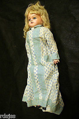 Vintage 1880`s -1915 know as a Patent Washable doll Composition Doll