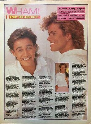 """WHAM PICTURE ARTICLE ORIGINAL ADVERT 1980s POSTER 13 X 10"""" APPROX"""