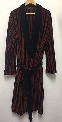 BY1 RECLAIMED 70's VINTAGE ST MICHAEL  DRESSING GOWN ROBE SMOKING JACKET LARGE