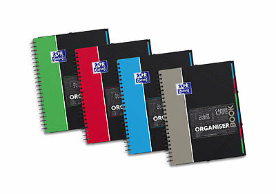 "1 Cahier ""Organiserbook"" A4+ - 160 pages - 5x5"