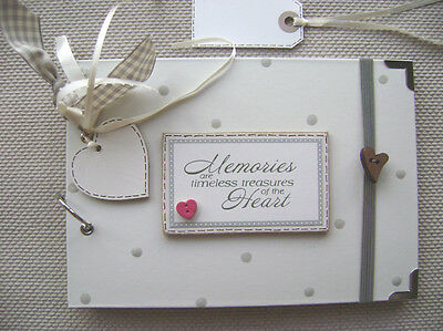 PERSONALISED memories A5 SIZE.30 pages... PHOTO ALBUM/SCRAPBOOK/MEMORY BOOK