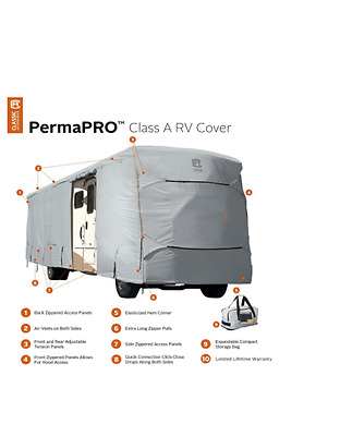 PermaPro 40 to 42 ft. Class A RV Cover