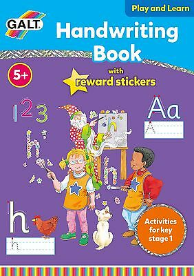 Galt Toy's New Play and Learn Handwriting Book with Gold Reward Stickers Book