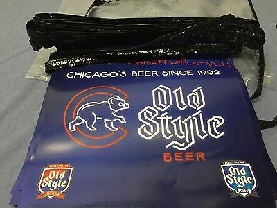 Old Style Cubs Pennant Strings New