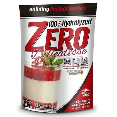 Beverly Nutrition - Hydrolized Zero Delicatesse, 1000 G, Chocolate Blanco Fresa