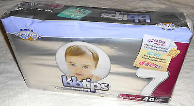 MEXICO KIDS BEDWETTING BABY DIAPERS - BBTIPS SIZE 7 - over 17kg NON VINTAGE