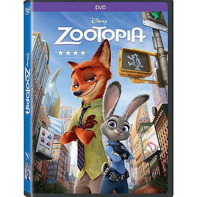 NEW - Zootopia DVD 2016 Animation, Kids, Family, Comedy SHIPPING TODAY !