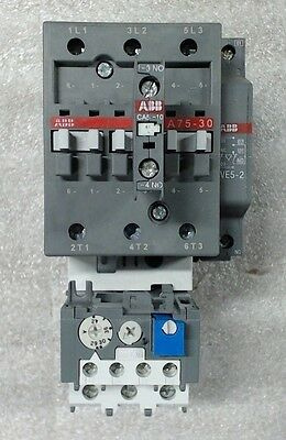 Used ABB non-reversing contactor A75-30-11-84 Series A - 60 day warranty