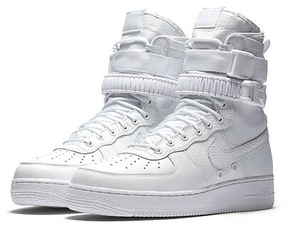 Nike SF Air Force 1 Special Field AF1 Triple White 903270-100 QS Limited