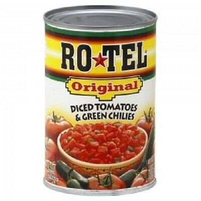 Ro Tel Original Diced Tomatoes & Green Chilies 283g Rotel