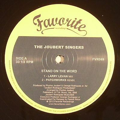 "JOUBERT SINGERS, The - Stand On The Word (remixes) - Vinyl (12"")"
