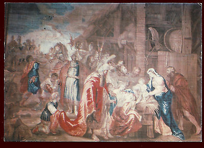 (46536) Flemish Tapestry. The Adoration of the Magi. Malta. Postcard