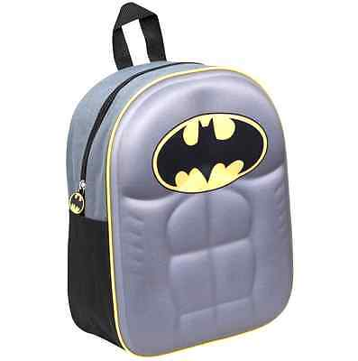 Official Batman Junior Boys Kids Eva 3D Backpack Rucksack School Bag New Gift