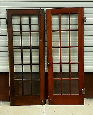 Pair of Antique/Salvaged Interior French Doors