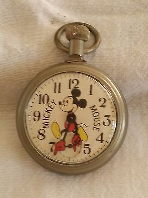Mickey Mouse Vintage Pocket Watch