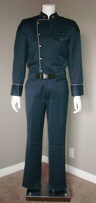 Battlestar Galactica Blood and Chrome Original Captain Diaz Duty Blues Uniform