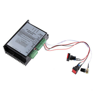 20-110V Input DC Motor Speed Controller Board Module PWM Spindle for USBCNC/PLC