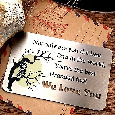 Gifts for Him Daddy Grandad Christmas Unusual Presents Dad Love grandpa Father t