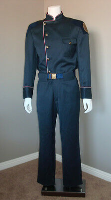 Battlestar Galactica Blood and Chrome Original Osiris XO Duty Blues Uniform