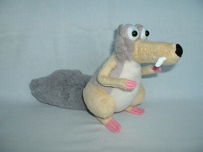 ICE AGE 3 SCRAT THE SQUIRREL Cuddly Soft Plush Toy (2/4/5/COLLISION COURSE/FILM)