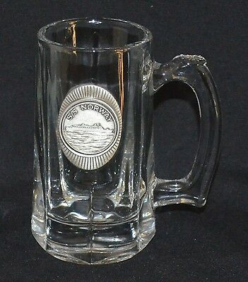 Ss Norway Glass Stein - Real Nice !!!!