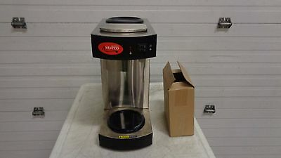 Avantco C10 12 Cup Pourover Commercial Coffee Maker with 2 Warmers- 120V