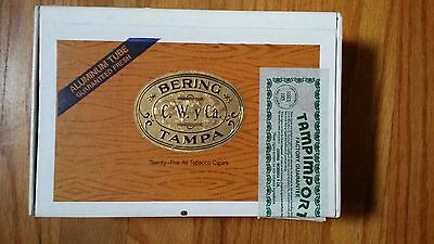 Vintage Wooden Cigar Box Bering
