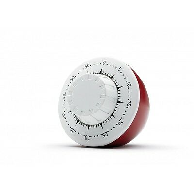 Vintage Style KITCHEN TIMER by PRESTIGE ~ Retro Red ~ Brand new & boxed bargain