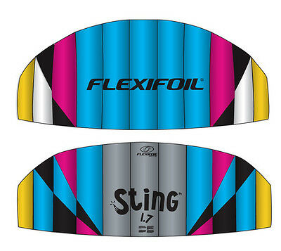 BRAND NEW Flexifoil 1.7m Sting 4-Line Power Kite